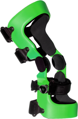 Green O3D knee orthosis