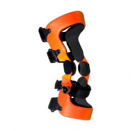 Orange knee orthosis