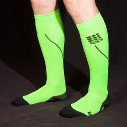 CEP Compression socks in flash green