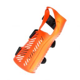 Orange wrist orthosis